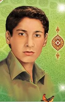 شهید دانش آموز عبدالمجید بارونی
